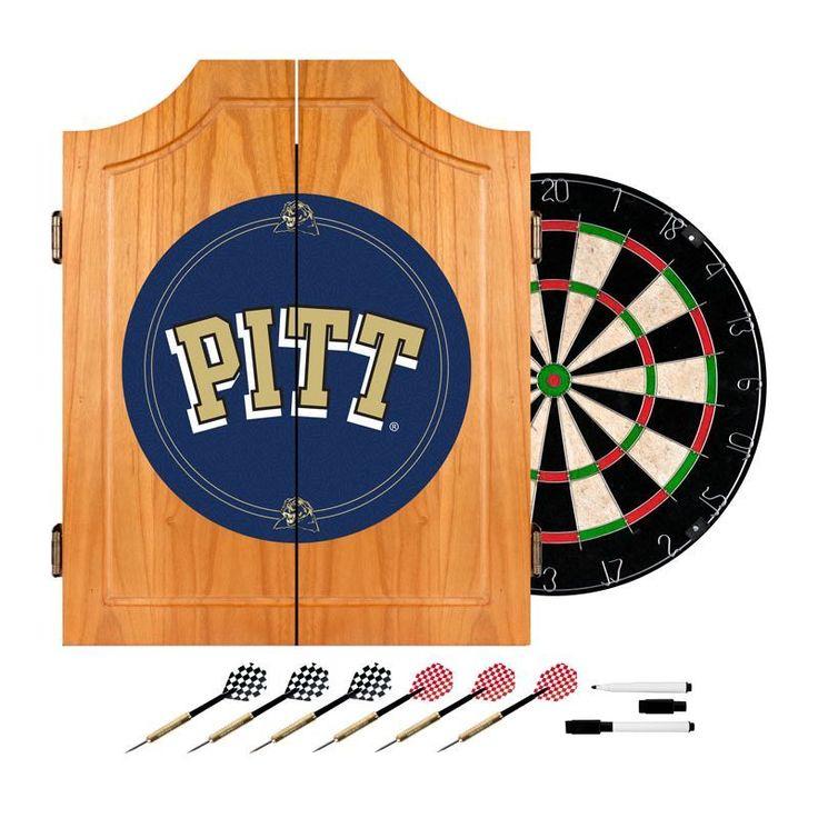 Trademark Games Pitt Dart Cabinet