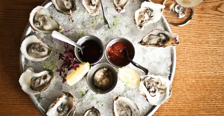Parkside, a sophisticated gastropub in Austin, TX offers half off oysters and champagne every Wednesday evening.