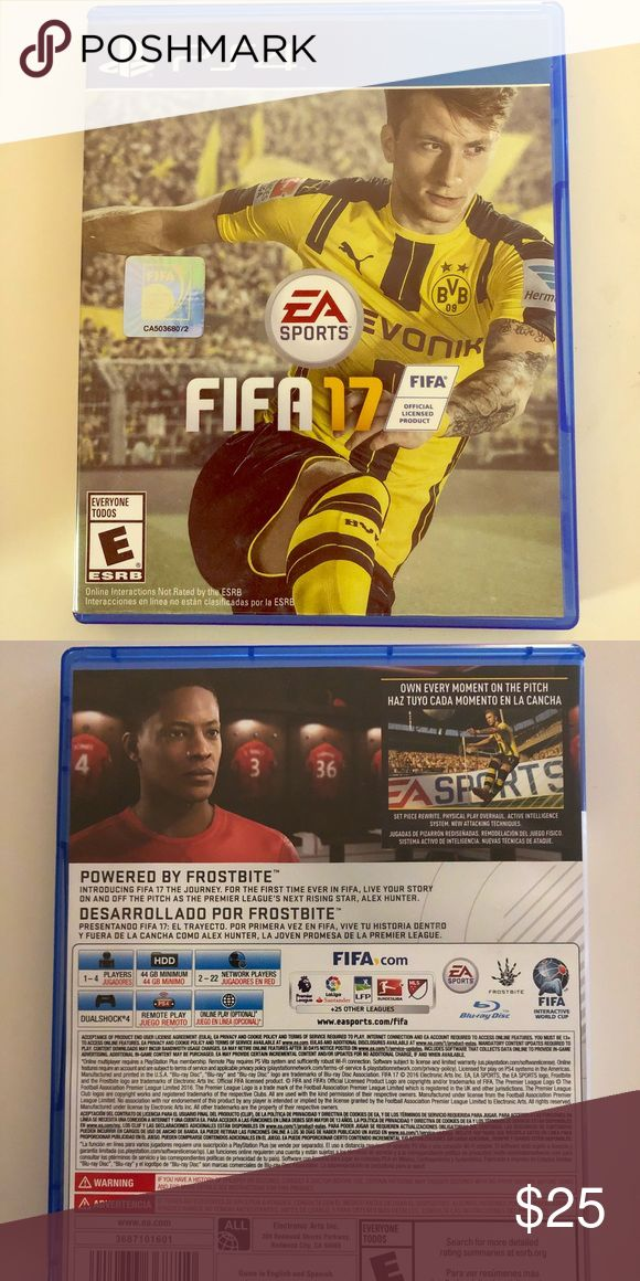 PS4 - FIFA 17 Game - Like New Used it for a few times.  In great condition and in box. PS4 Games ps4 Other