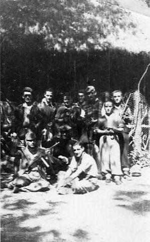 1945 - Pistoia Squadra partigiana Berti #25aprile