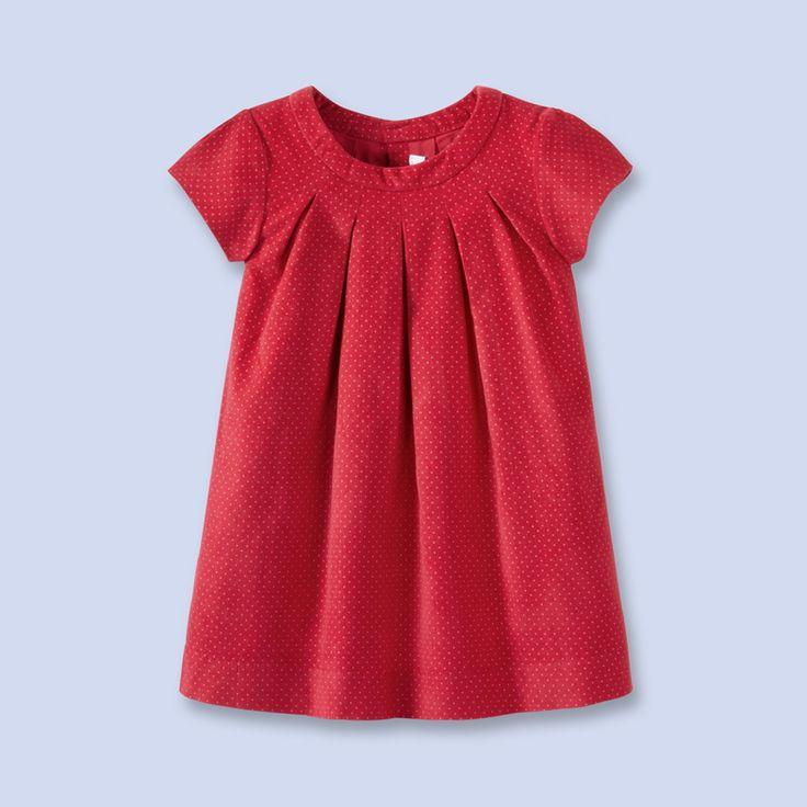 Holiday dresses for girls: Jacadi red polka dot dress
