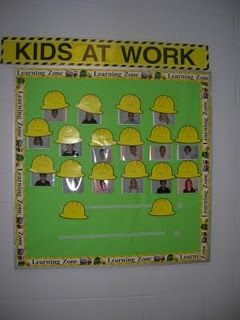 entire construction theme this would have been fantastic whilst the school was being done