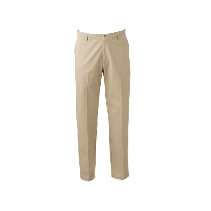 Men's Lee Total Freedom Relaxed-Fit Comfort Stretch Pants, Size: 34X30, Lt Beige