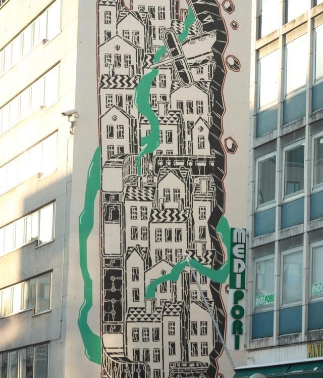 Street art in Pori