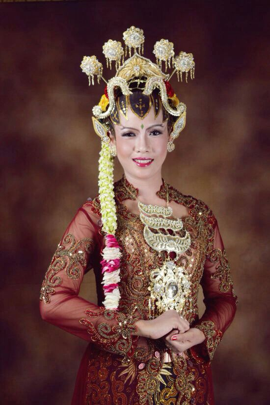 Paes ageng jogja #traditional #makeup #indonesia