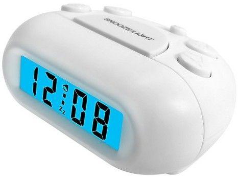 Sharp LED Digital Alarm Clock White - Sharp®