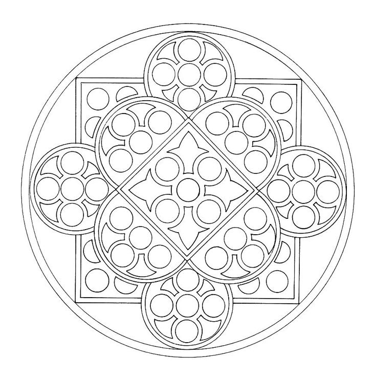 mandala coloring pages as therapy - photo#40