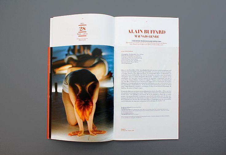 Les produits de l'épicierie, design graphique, MDLR 13.14, Montpellier Danse en Languedoc Roussillon