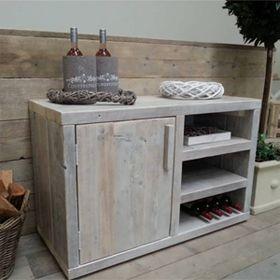 armario de madera reciclada... hacemos muebles a medida... www.almacen5.es