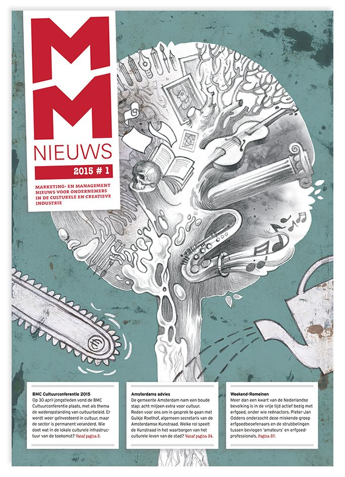 MMNieuws cover illustration by Ievgen Kharuk