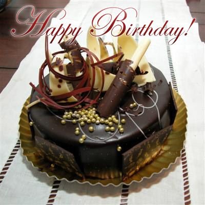 Happy Birthday May Your Birthday Cake Be Moist