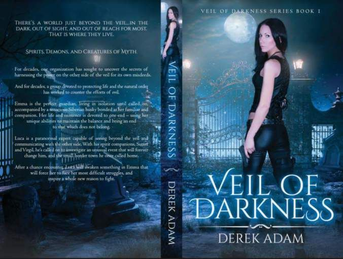 Read Veil of Darkness yet? Heres a peek at the fun to be had:  You just grabbed a ghost. I shook my head and scoffed. How? Youre not the only one with gifts Luca. No shit Well thanks for not shooting him I guess. I considered it. Hes harmless. Just a lot of vulgar talk. Hed never actually do anything. Ive handled rough-grabbing spirits before I wasnt worried. No I mean Youre not his type. What do you mean? She gave me a puzzled look. God please dont make me explain it. My eyes fell across…