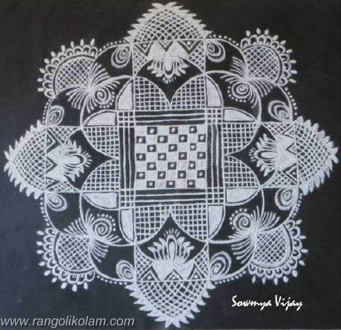Lovely design done by sowmya vijay