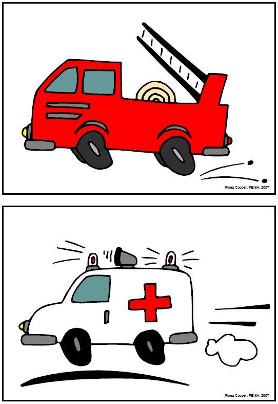 Flashcards, fordon