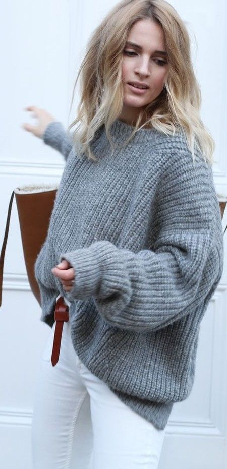 oversized jumper.
