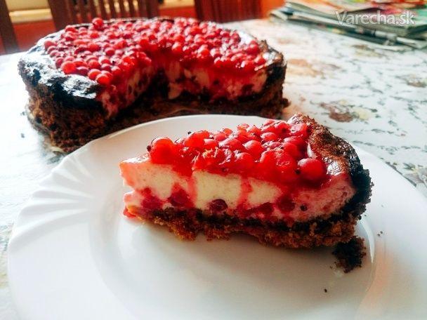 Tvarohovo-ríbezľový koláč - Recept