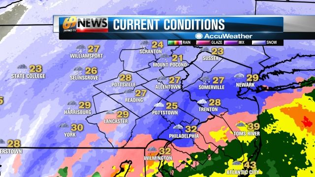 Local weather forecast for Allentown, Pennsylvania - WFMZ-TV 69News Weather