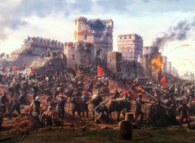 1453, η Άλωση της Πόλης το εντυπωσιακό αφιέρωμα του National Geographic ! - radioaetos.com