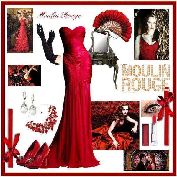 Moulin rouge style dresses uk