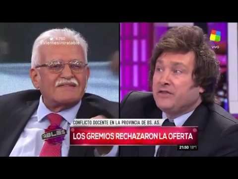 Choque de economistas: Pignanelli y Milei se cruzaron por el conflicto d...