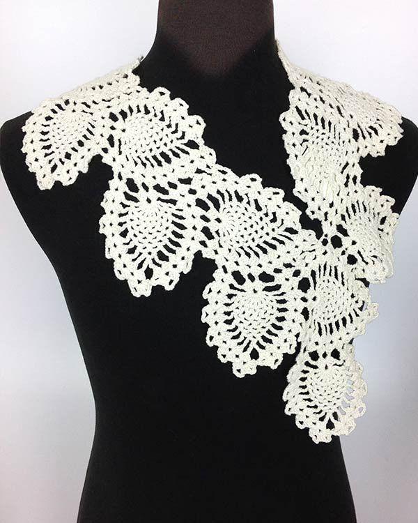Maggie's Crochet · Pineapple Trellis Scarf/Wrap Pattern