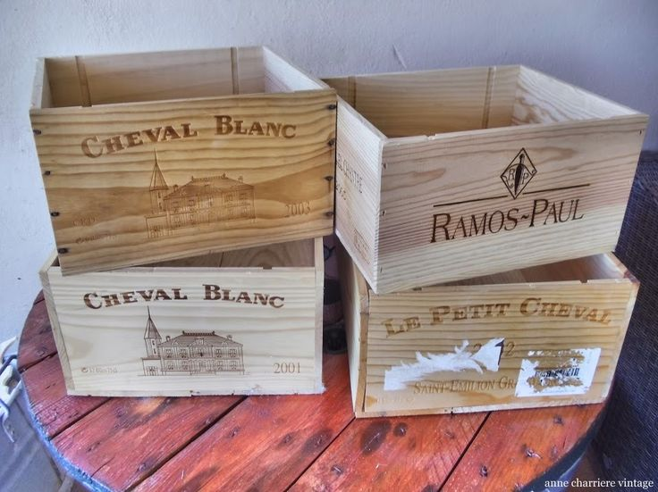Reuse wine boxes