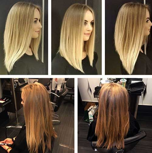 Angled Haircut Long Hair Gallery Haircuts For Men And Women