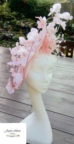 Blossom BY JAYNE ALISON #millinery #hatacademy