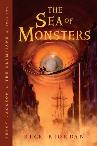 The Sea of Monsters - Rick Riordan #2 book in Percy Jackson and the Olympians