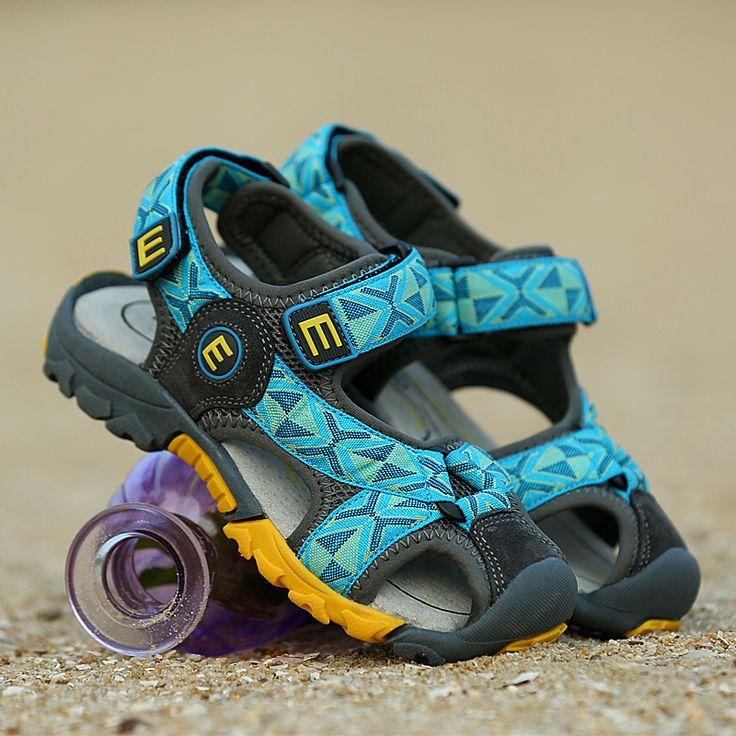 Новые летние сандалии мальчиков обувь 6 7 8 Баотоу детей большой девственный мальчик 10 студентов 9 до 12 лет -tmall.com сандалии Lynx