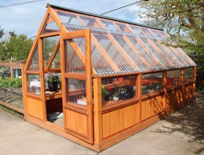 Corrugated Plastic Panels Plasticgardensheds Backyard Greenhouse Diy Greenhouse Plans Greenhouse Plans