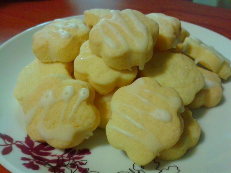 Galletas de limón con glaseado