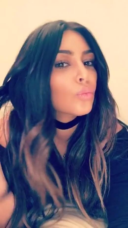 Kim Kardashian Will Make You Fall in Love With Ombré Hair Again