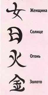 иероглифы японские и их значение на русском: 11 тыс изображений найдено в Яндекс.Картинках