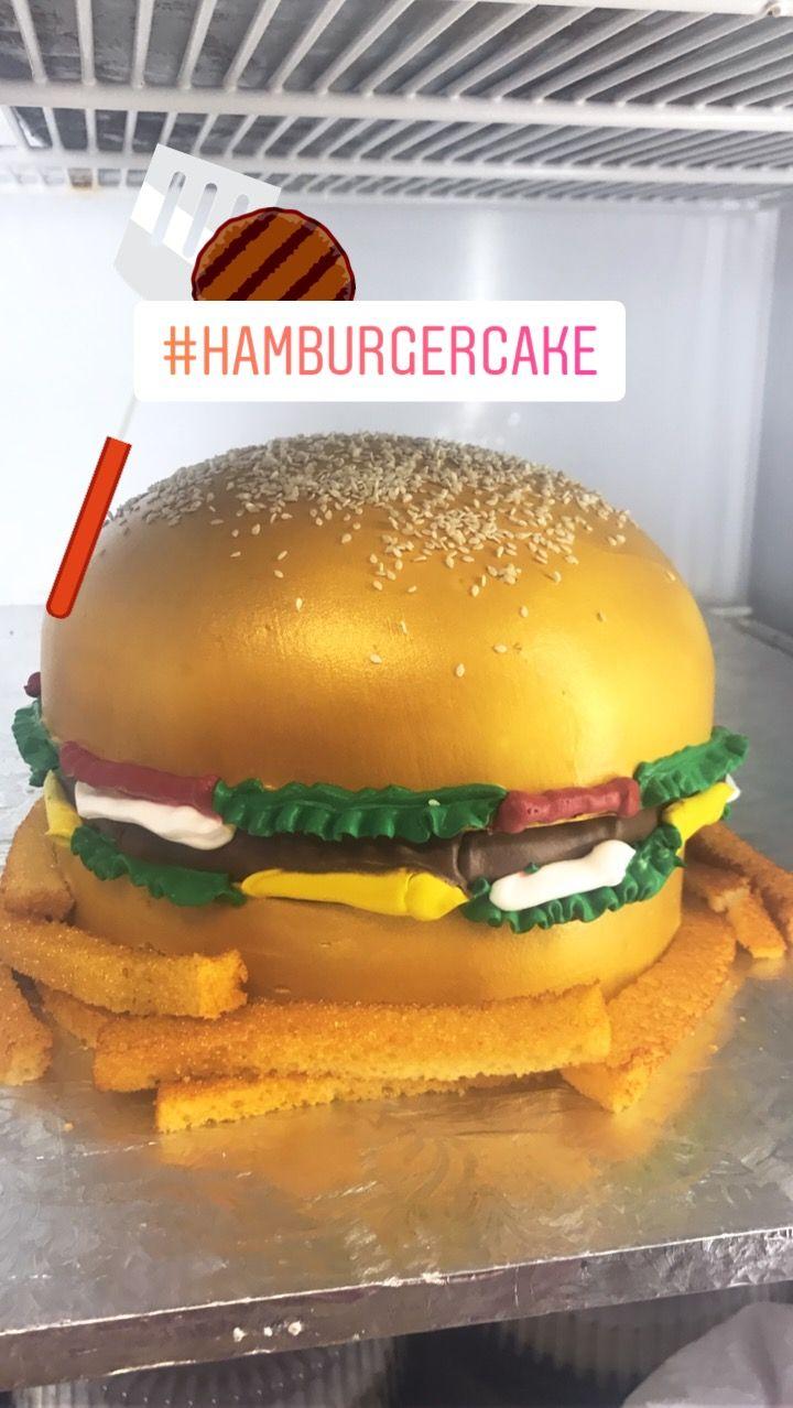 burger cupcakes how to make