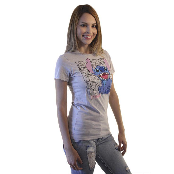 Disney Lilo & Stitch Ohana Grey Licensed T-shirt
