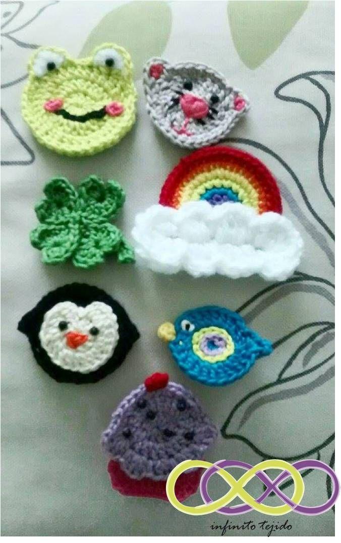 Adorno botón crochet  #pin #crochet #handmade