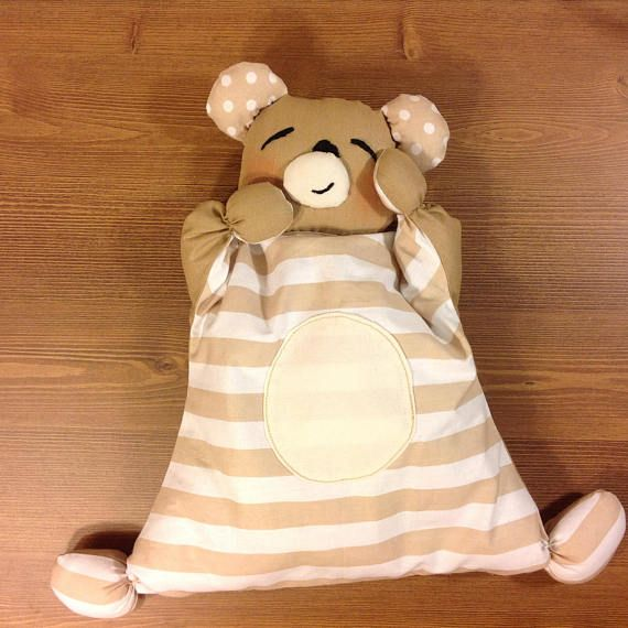 newborn toy nursery toy bear waldorf doll baby first toy comforter bear comforter toy organic plush toy crib toy soft bear cuddly toy cotton  The first doll for your baby – cotton toy bear comforter . This toy comforter is best doll for the babies. His hands and feet are two knots