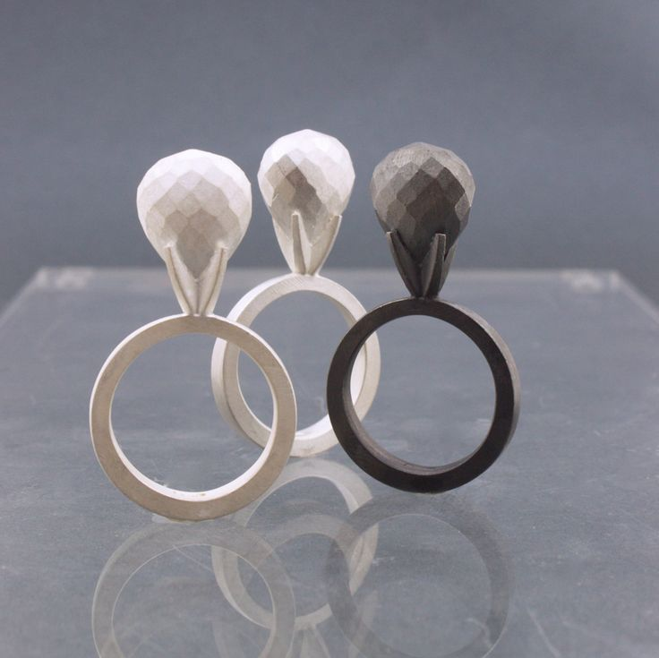 Klara Eriksson: Silver Rings http://klaraeriksson.blogspot.se/2012/05/silverringar.html