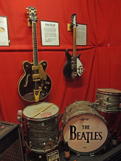 Beatles Collection, The Cavern Club, Liverpool, England