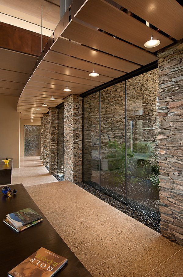 contemporary home in the Arizona desert