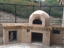 casa90 gas pizza oven improper use of door