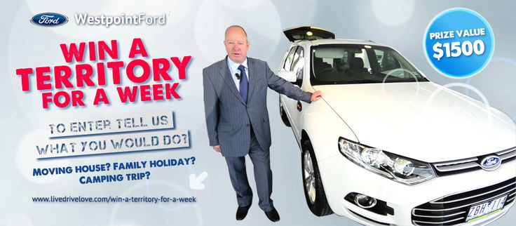 Moving House? Family Holiday? Tell us what you would do with a Territory for a week?  #win #ford #westpointford #car #melbourne #competition