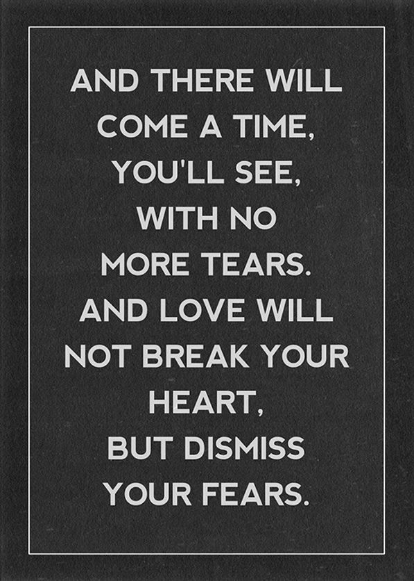 Mumford & Sons; all time favorite.
