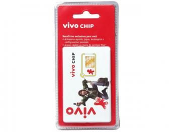 Chip Vivo 3G Pré-Pago - DDD 16 RS