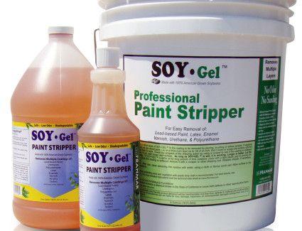 Soy Gel Paint Sealer Stripper