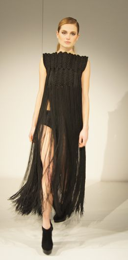 Eleanor Amoroso AW12 Macrame Dress at Modefabriek