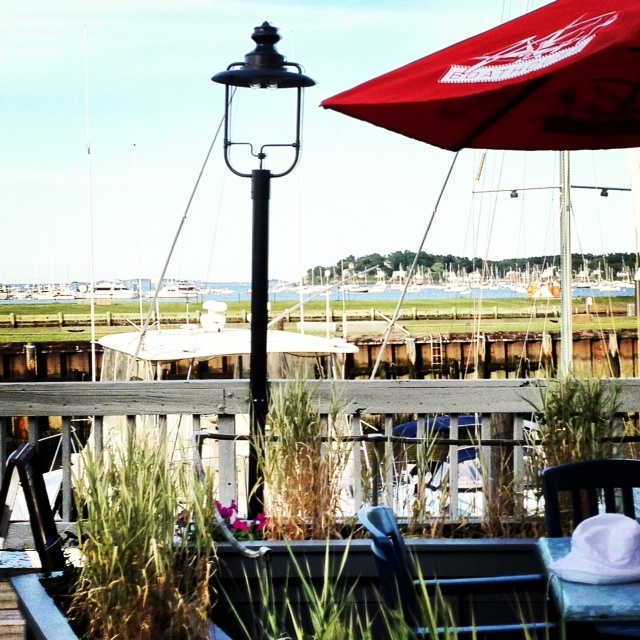Victoria Station restaurant on Pickering Warf, Salem MA; best clam chowder EVER