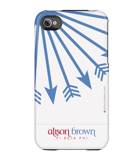 Another one  of EC's iPhone cases in the  new Pi Phi collection!! Get at this, Arrow sis!