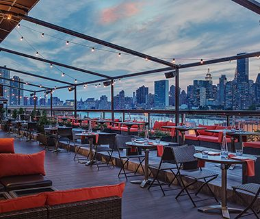 Best Rooftop Bars in NYC: Ravel